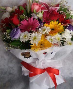 Karışık Kır Çiçeği Buket